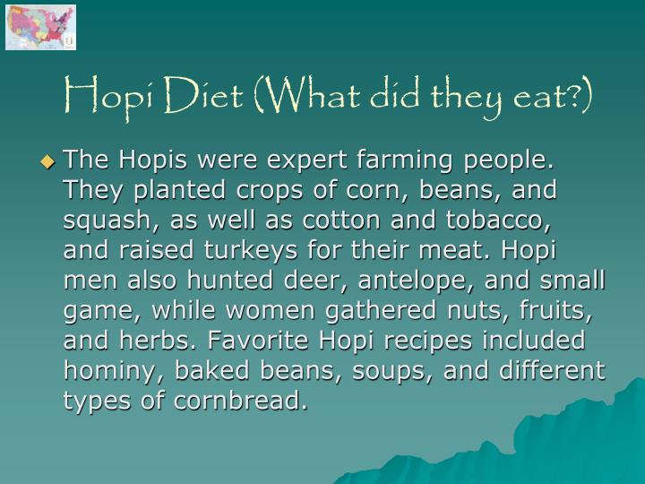 Hopi Diet (What did they eat?)