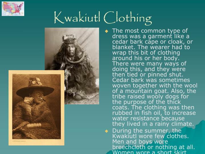 Kwakiutl Clothing