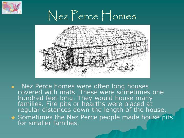 Nez Perce Homes