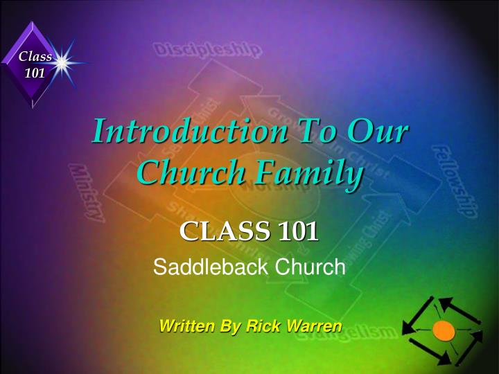 introduction to our church family n.
