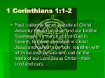 1 corinthians 1 1 2