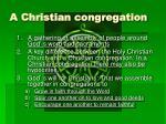 a christian congregation2