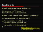reading a file2