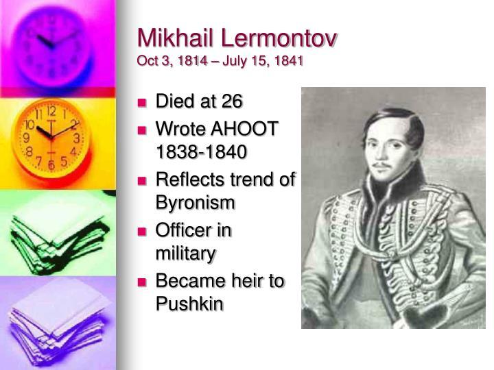 Mikhail Lermontov