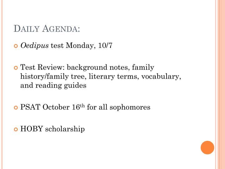 Hoby scholarship essays