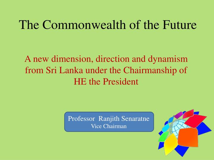 the commonwealth of the future n.