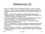 references 3