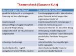 themencheck susanne kutz