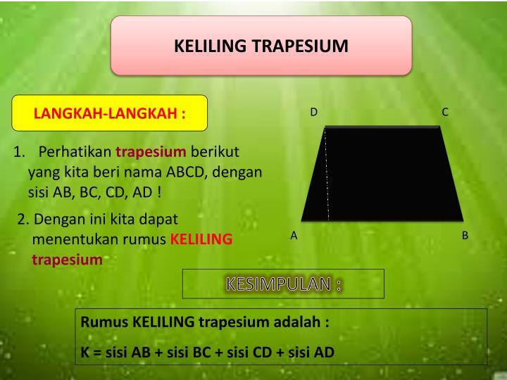 KELILING TRAPESIUM