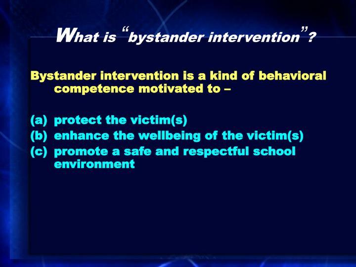 Bystander intervention school engagement versus shame management