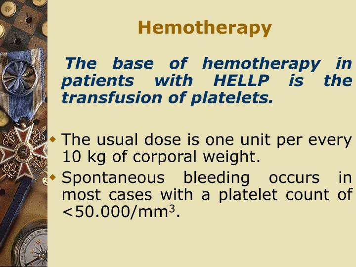 Hemotherapy