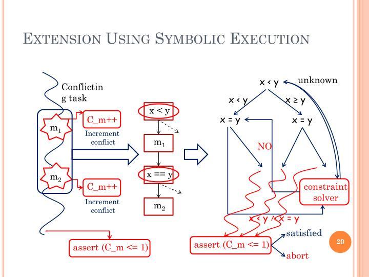 Extension Using Symbolic Execution