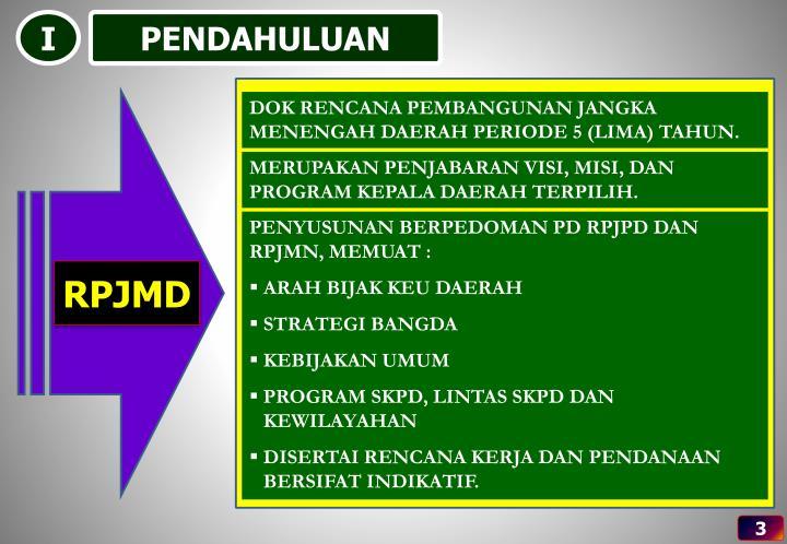Pokok pokok rpjmd prov jateng 2013 2018 perda prov jateng no 5 tahun 2014