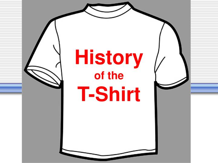 history of the t shirt n.