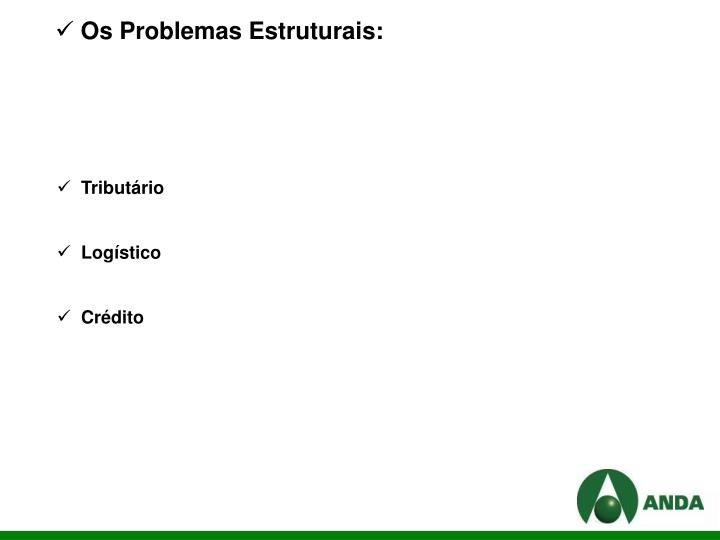 Os Problemas Estruturais: