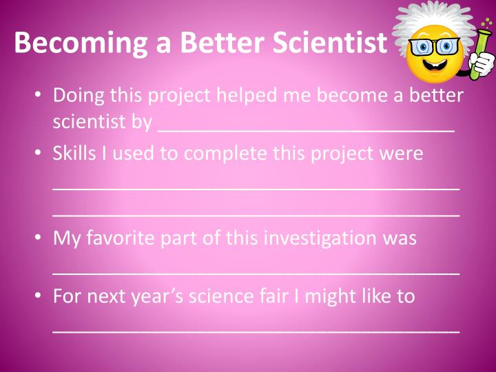 Becoming a Better Scientist