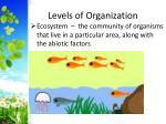 levels of organization3