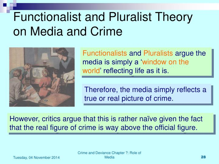 scly4 functionalist approach to crime and deviance Sample decks: functionalist theories of crime, locality, control, and labelling theory and marxism , feminism and gender and crime show class sociology crime and deviance scly4.