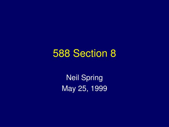 588 section 8 n.