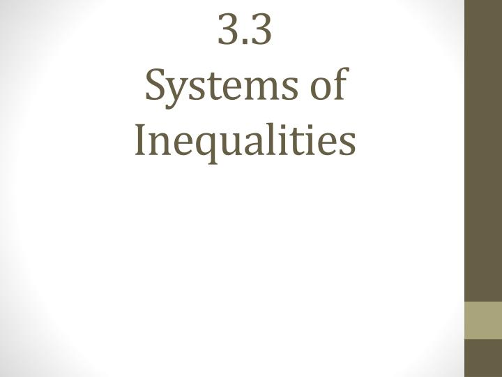 3 3 systems of inequalities