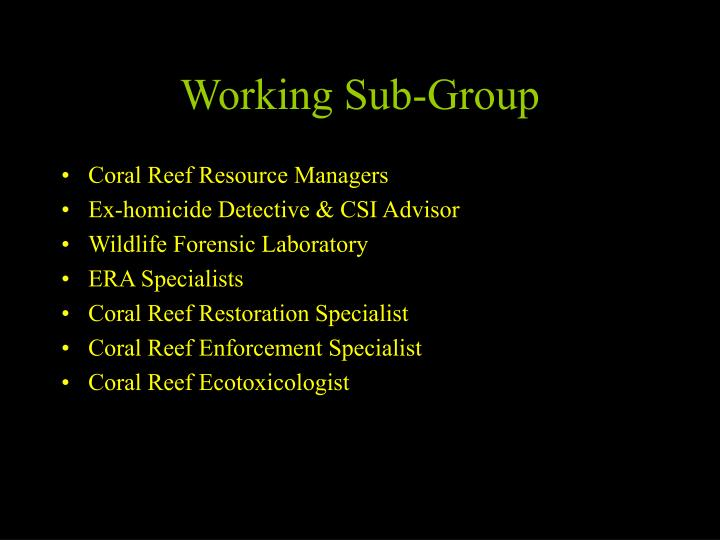 Coral Reef Resource Managers
