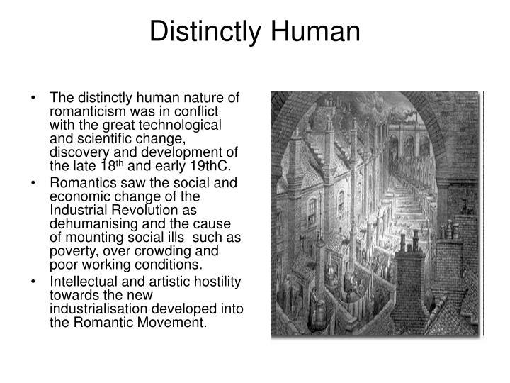 Distinctly human
