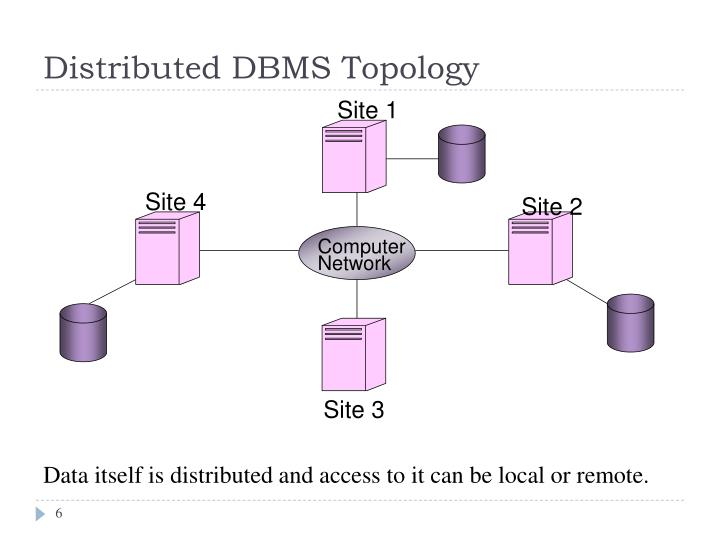 Distributed DBMS Topology