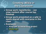 creating wikis in the classroom1