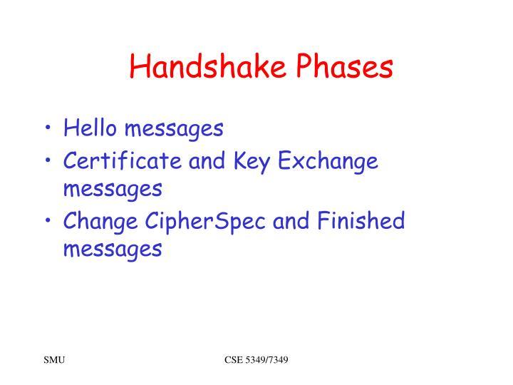 Handshake Phases