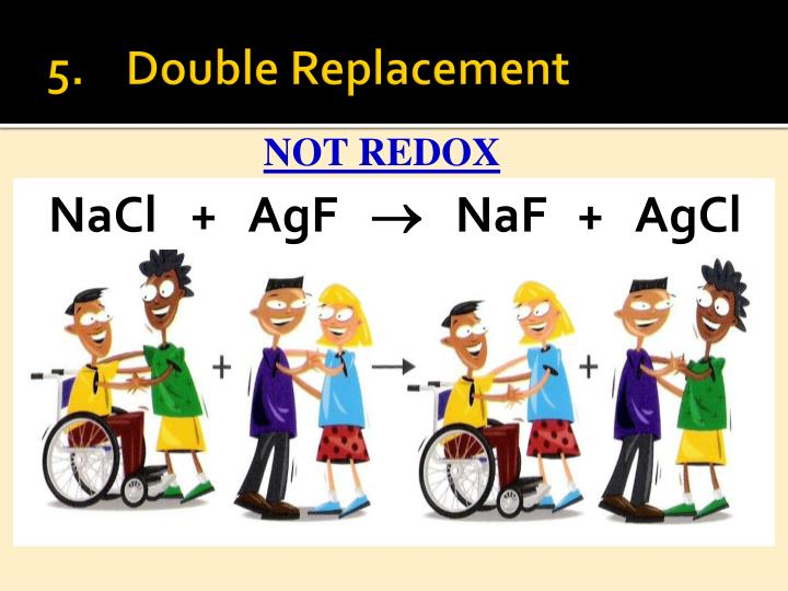 5.	Double Replacement