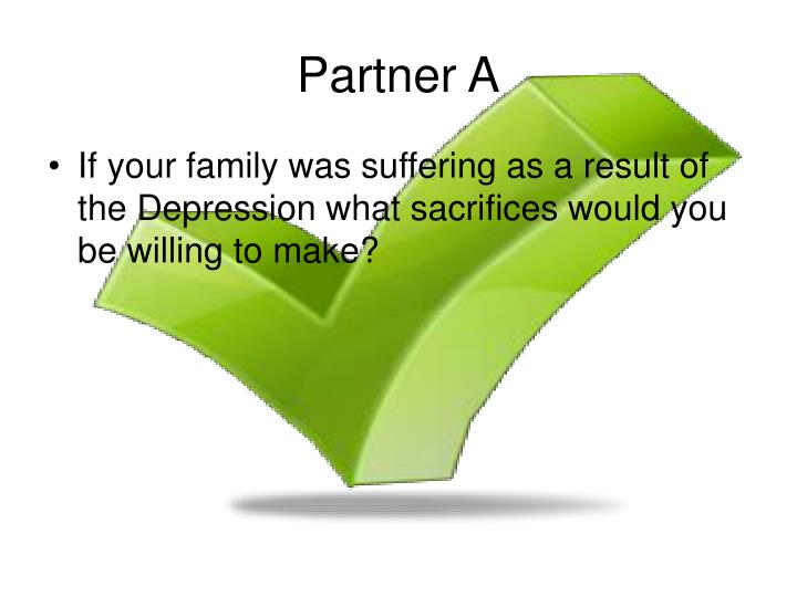 Partner A