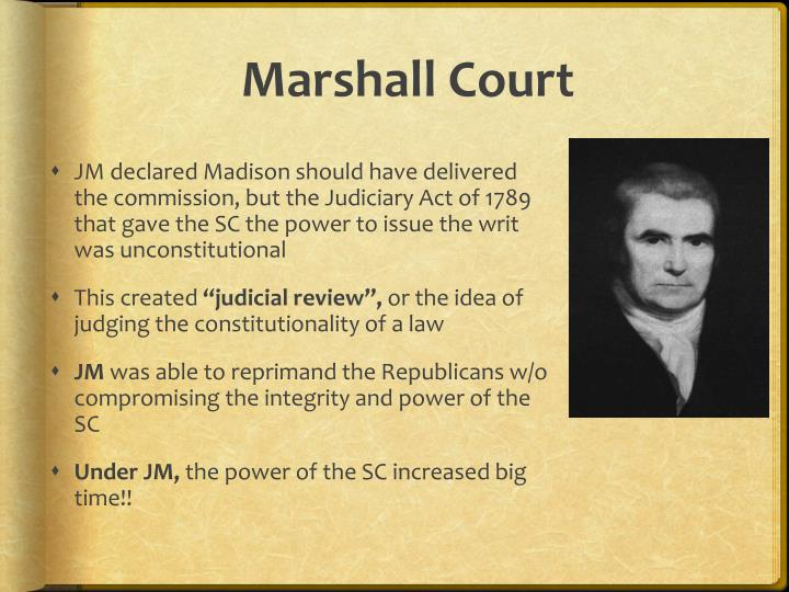 Marshall Court