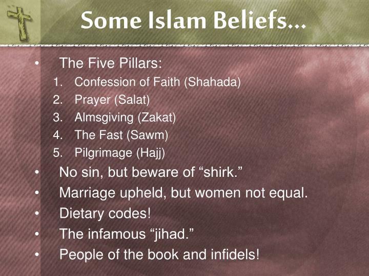Some Islam Beliefs…