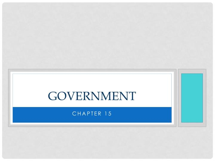 government n.