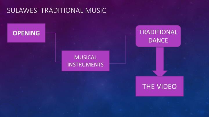 SULAWESI TRADITIONAL MUSIC