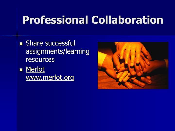 Professional Collaboration