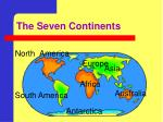 the seven continents1