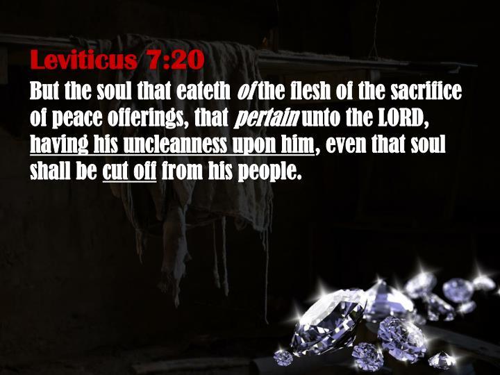 Leviticus 7:20