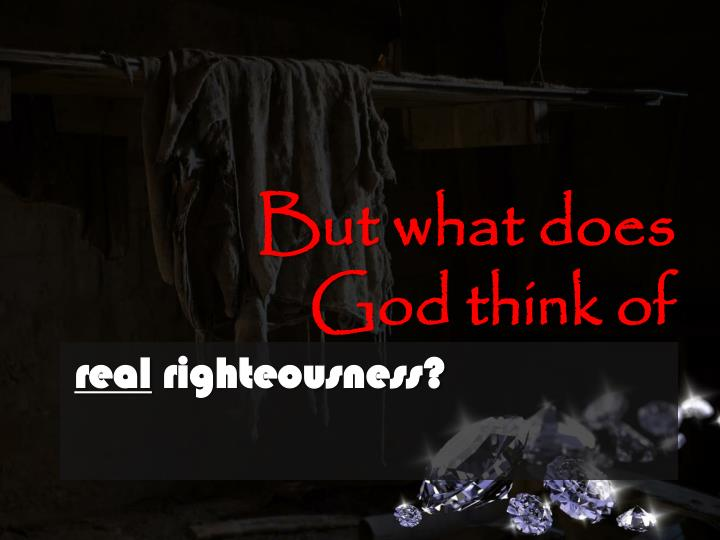 But what does God think of