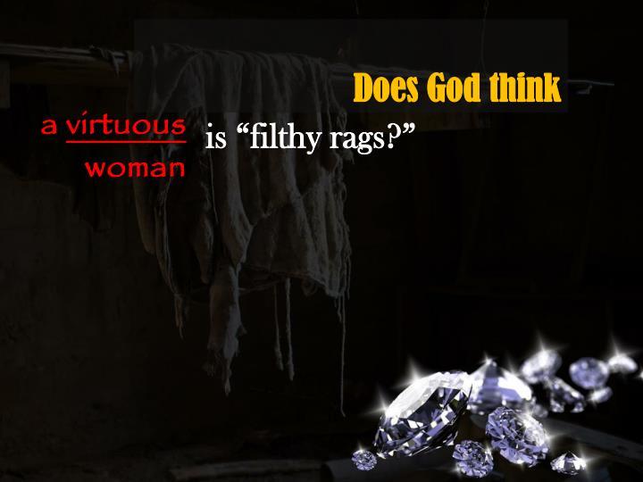 Does God think