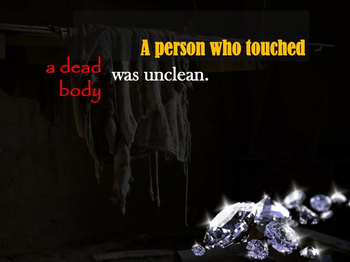 A person who touched