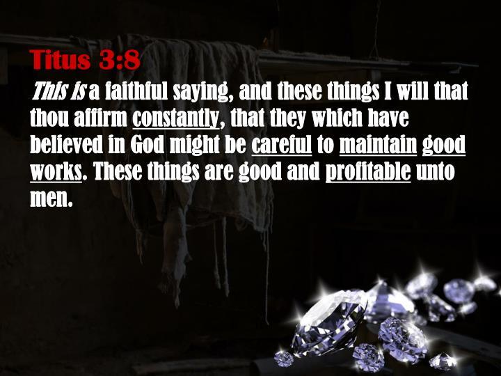 Titus 3:8