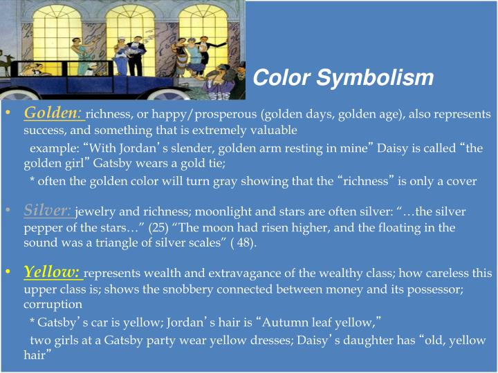 Ppt Symbolism In The Great Gatsby Powerpoint Presentation Id6193666
