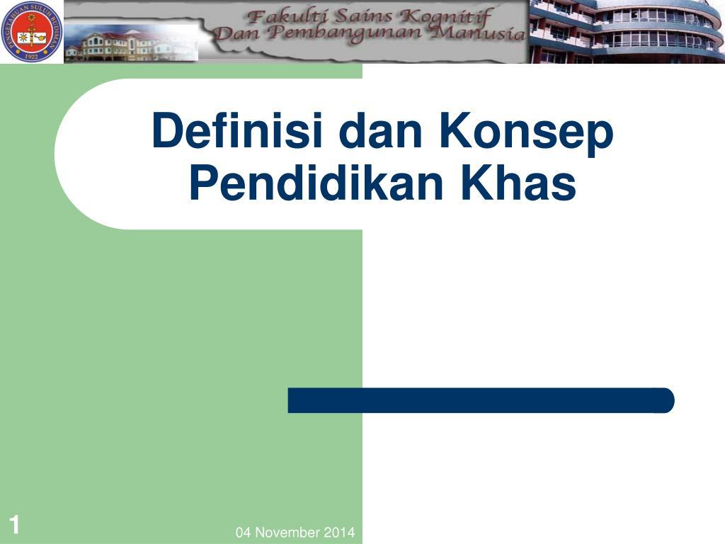 Ppt Definisi Dan Konsep Pendidikan Khas Powerpoint Presentation Free Download Id 6194123