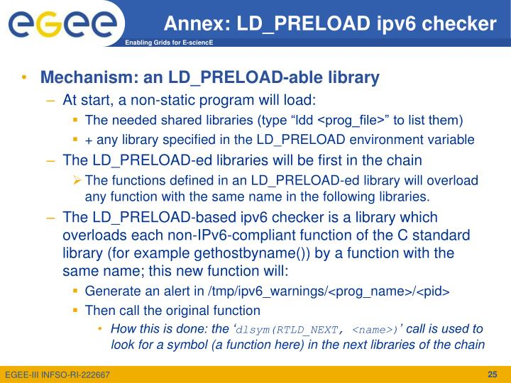 Annex: LD_PRELOAD ipv6 checker