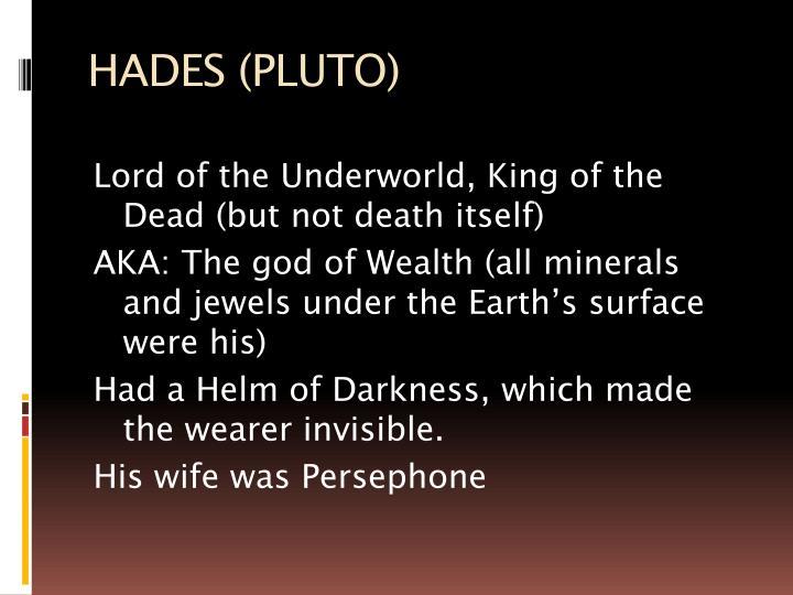 HADES (PLUTO)