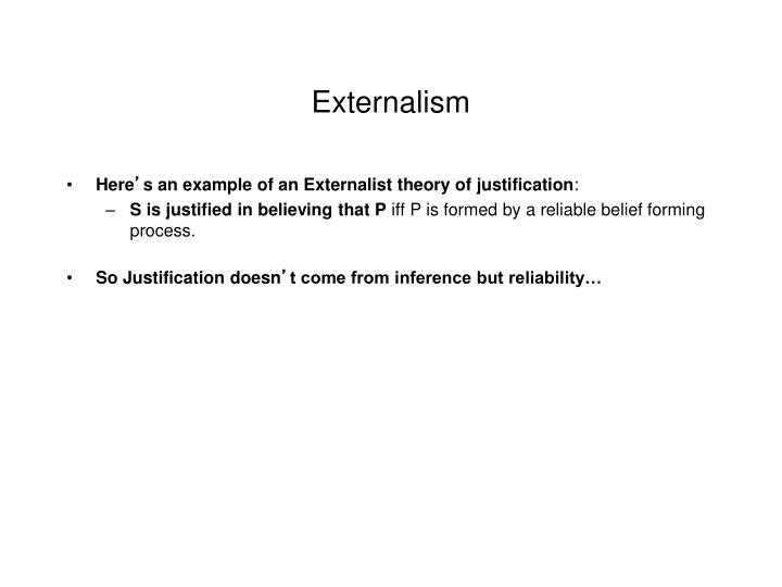 Externalism