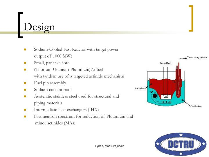 Ppt sodium cooled fast reactor powerpoint presentation for Pool design reactor