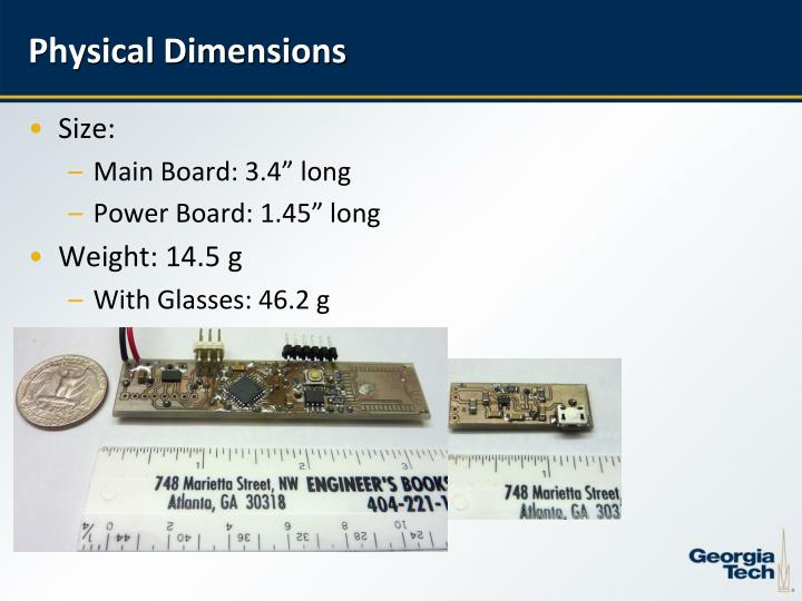 Physical Dimensions