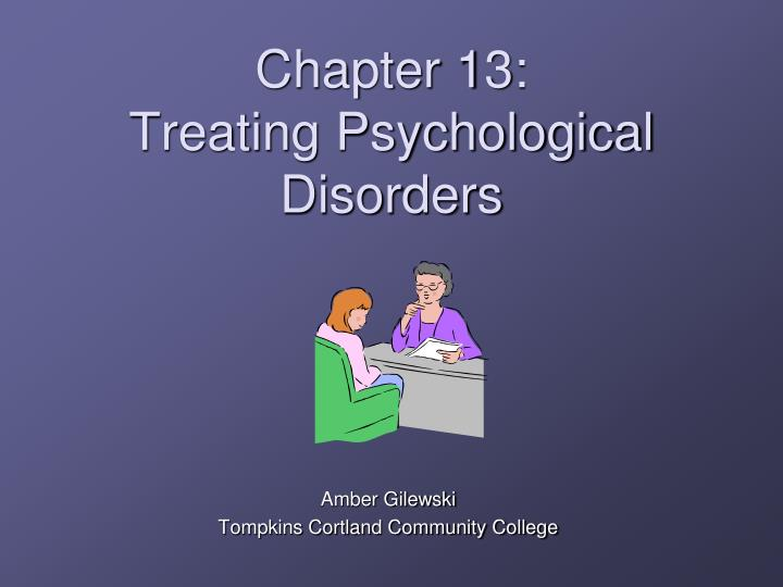 chapter 13 treating psychological disorders n.